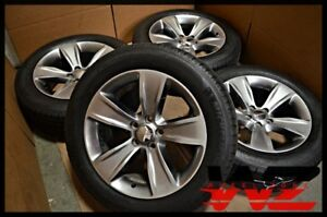 Set Of 06 16 18 Dodge Charger Challenger Wheels With Tires Oem 1zv90trmab 2521