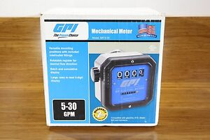 Gpi 1 1 2 Npt Mechanical Fuel Gas Gasoline Diesel Pump Meter 5 30 Gpm