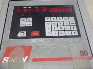 Smw 50 System 500 Control Panel Cnc Rotary Table Controller 4th Axis Monitor