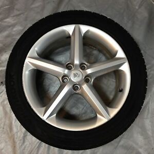 Saturn Sky Factory Silver Painted Wheel Rim 18x8 W 245 45 18 Tire Ps006 1