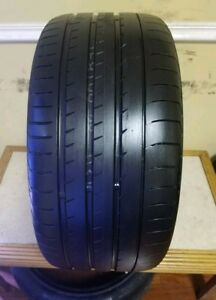 One Used 295 35 21 Yokohama Advan Sport