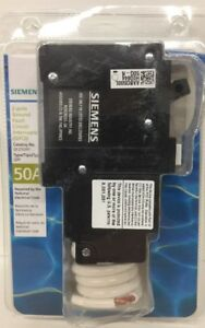 new Siemens Qf250ap Circuit Breaker 50a 2 Pole Gfci