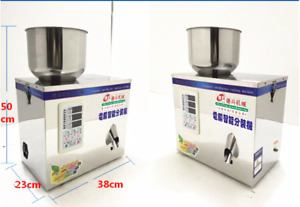 Automatic 1 25 G Particle Powder Tea Seed Grain Packing Filling Machine 220 110v