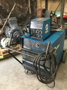 Miller Deltaweld 302 Cv dc Arc Welding Power Source Welder W 60 Series Wire Feed