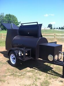 Competetion Bbq Trailer Smoker Super Nice Brand New Barbeque Cooker Cheap