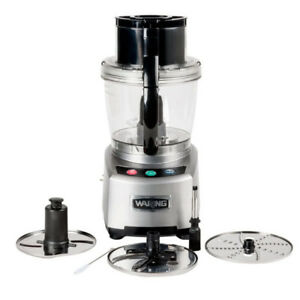 New Waring Wfp16s Electric Commercial Food Processor With 4 Qt Bowl 2 Hp