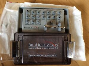 Biohorizons Overdenture One piece 3 0 Denta Implant Surgical Kit