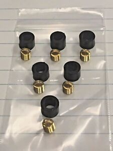 Refrigeration Hose Repair Kit For Hoses With 1 4 Knurled Nut Flared Ends 6