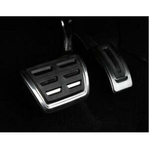 Car Stainless Steel Fuel Brake Pedal Cover For Vw Golf 7 Mk7 At Pedal