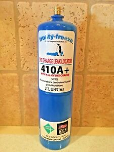 R410 R410a R 410 R 410a Refrigerant With Dye Charge Leak Locator 28 Oz