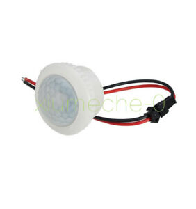1pcs 220v 50hz Pir Induction Light Control Ceiling Lamp Body Infrared Switch M8