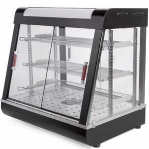 27 Commercial Food Heating Display Warmer Cabinet Show Case