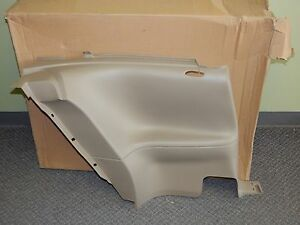 New Oem 1999 2004 Ford Mustang Interior Rear Lower Left Trim Panel Cover Brown