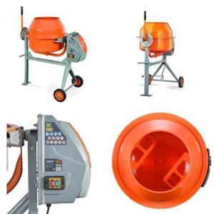 Concrete Cement Mixer Building Construction Gravel Sand 4 0 Cubic Feet Portable