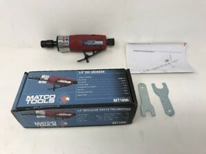 Matco Tools Mt1890 High Speed Straight Die Grinder Air Tool Pneumatic