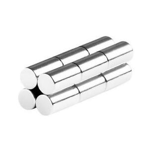 1 4 X 1 2 Inch Neodymium Rare Earth Cylinder rod Magnets N48 12 Pack