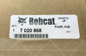 New Bobcat Fuel Injection Pump Injection Kubota V2203 7020868 no Core Charge