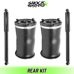 Rear Air Spring With Shocks 2003 2009 Hummer H2 15938306