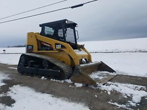 2003 Caterpillar 277 Compact Rubber Tracked Multi Terrain Skid Loader Cat Orops