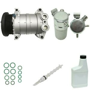 Ryc Reman Complete Ac Compressor Kit Eg931 Without Rear A C