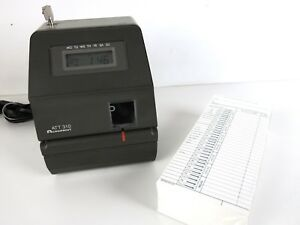 Acroprint Att310 Time Clock Time Cards Key powers On Unable To Test
