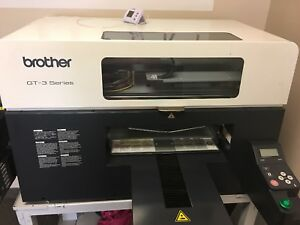 Barely Used Brother Gt 361 Direct To Garment Printer With Pinter Stand