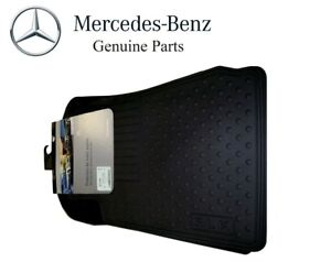 For Mercedes Benz Slk Class R170 Black All Season Floor Mats Genuine Bq6680350