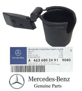 Genuine For Mercedes G Class G500 G55 Amg Black Colour Cup Can Holder Tray