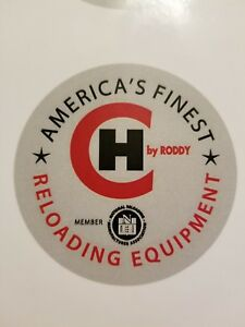 CH Reloading Equipment Press Stickers