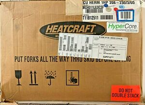 Overstock Heatcraft Indoor Condensing Unit Moh011l63 230 3ph R404a Low Temp