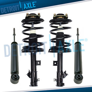Front Strut Coil Spring Assembly Rear Shock Absorber For 2003 2007 Nissan Murano