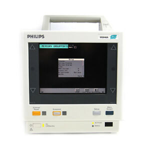 Philips M3 Patient Monitor With M3000a Module M3046a Biomed Certified