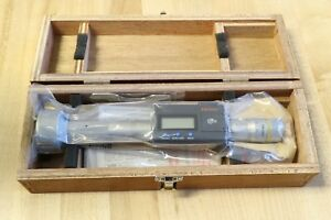 Mitutoyo 3 point Digimatic Digital Holtest Micrometer Bore Gauge Gage 40 50mm