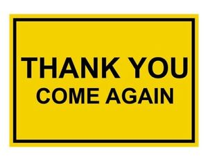 Compliancesigns Engraved Plastic Customer Policies Sign 10 X 7 Yellow
