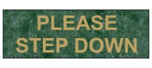 Compliancesigns Engraved Plastic Customer Policies Sign With Gold finish