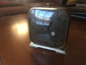 Show Boat Circa 1939 Animated Alarm Clock Lux Clock Manufacturing Co