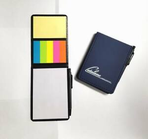 Lot Of 50 Pieces Misprint Nifty Sticky Note Caddy s With Pen