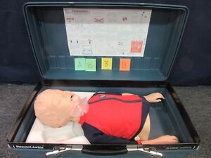 Laerdal Resusci Junior Cpr Training Manikin First Aid Child Patient Simulator b