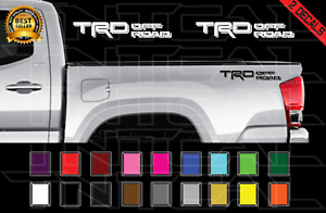 Trd Off Road Decals Toyota Tacoma Tundra Truck Vinyl Stickers X2