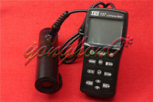 1pcs New Tes 137 Luminance Meter Dual Display 4 digit Lcd