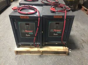 Used Automatic Battery Charger Enforcer 24 Volt 380 Ah 1 Phase Very Nice