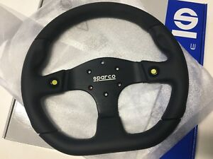 Sparco 015tmg22tuv Mugello Black Steering Wheel Diameter 330mm New