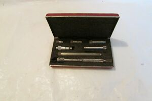 Starrett 823 Tubular Inside Micrometer Range 1 5 8 In Machinist Tools 1