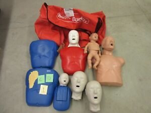 6 Basic Buddy Training Torso Cpr First Aid Patient Simulator Adult Child Infant