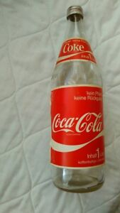 Extremely rare old bottle- 1 liter  Coca Cola  -Made in Germany
