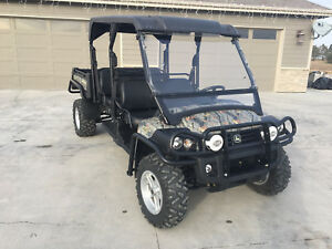 John Deere 825 S4 Double Seat Gator 2013 W 136 Hrs Radio Power Steering