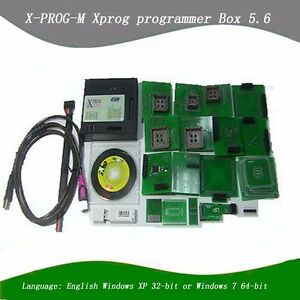 2pcs lot New Xprog 5 60 Latest Version X prog 5 60 Ecu Programmer Xprog M V5 60