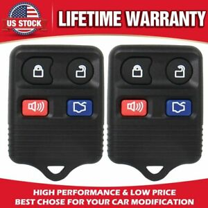 2pcs Replacement Keyless Entry Remote Control Car Key Fob For Ford Expedition V6
