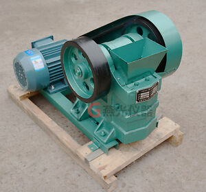100x60 Mini Jaw Crusher For Rock Ore slag steel Slag Coal Stone Crushing 220v