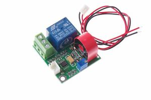 Smakn 12v Ac Current Detection Module 0 5a Current Sensor Module W Relay